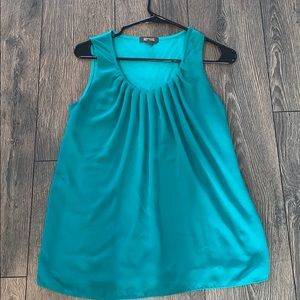 Kenneth Cole- teal blouse